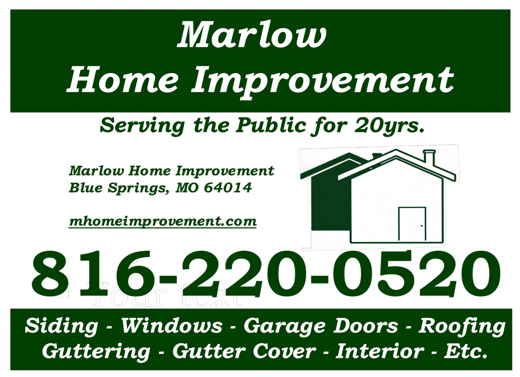 Marlow Home Improvement Blue Springs Mo 64014 816 220 0520