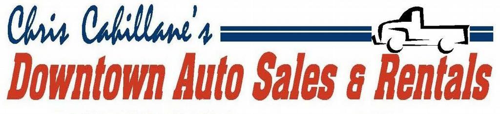 Chris cahillane 39 s downtown auto sales rentals for Chris motors auto sales