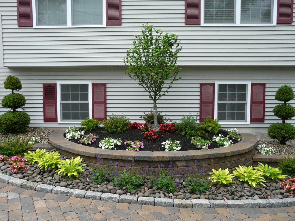 Done right landscape construction wakefield ma 01880 for Low maintenance border shrubs