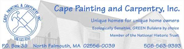 Remodeling Your Home to be More Eco-Friendly:  Featuring Cape Painting & Carpentry, Inc.