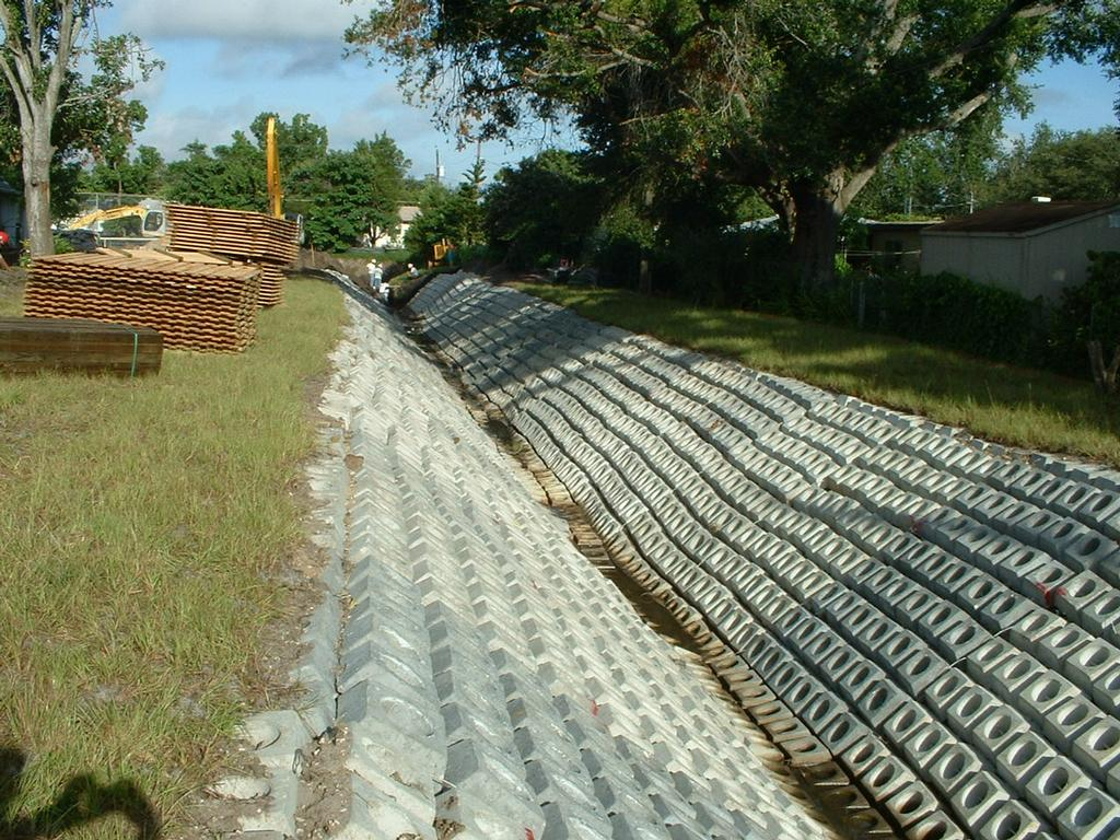 Articulated Concrete Block Mat Cable Concrete