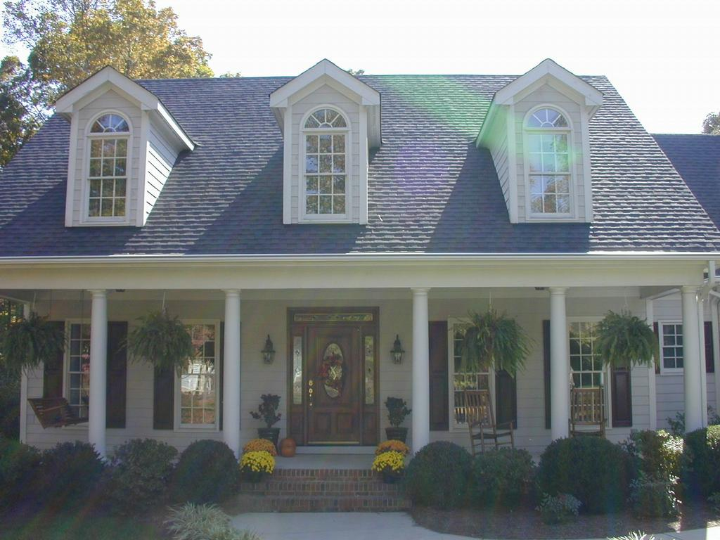 Roof With Dormers From Leafguard Of The Southeast