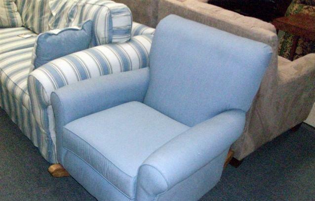 Harbor Blue Sofa Chair