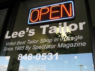 Lee's Tailor Shop - Raleigh, NC