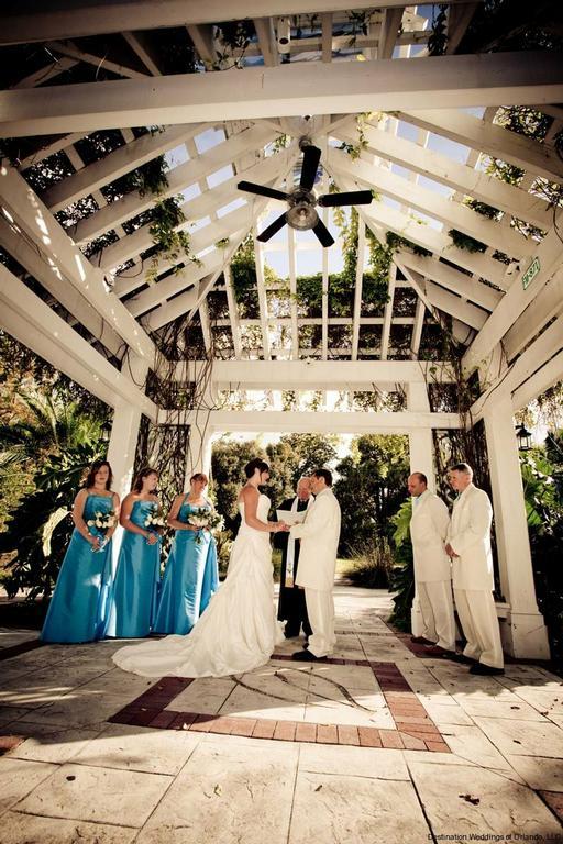 Botanical Garden Gazebo From Beach Weddings In Florida Llc In Orlando Fl 32811