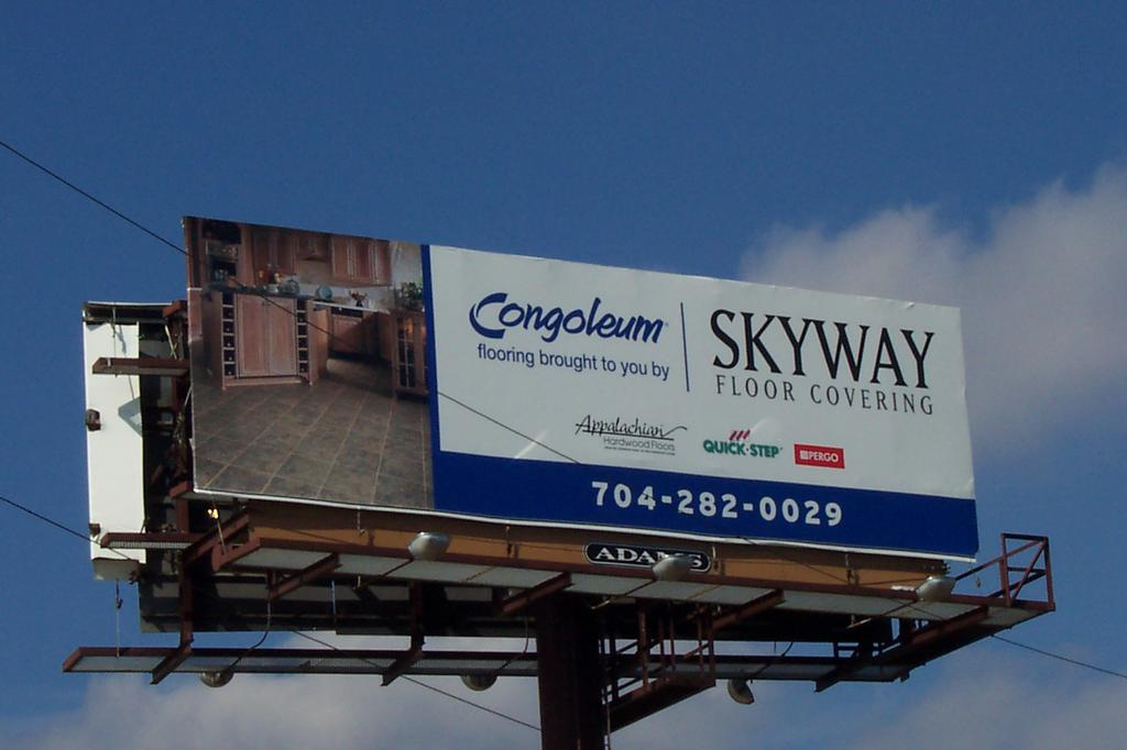 Billboard From Skyway Floor Covering In Monroe Nc 28110