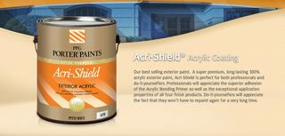 Acri Shield 100 Acrylic Exterior Ppg Porter Paints In Raleigh Nc 27616
