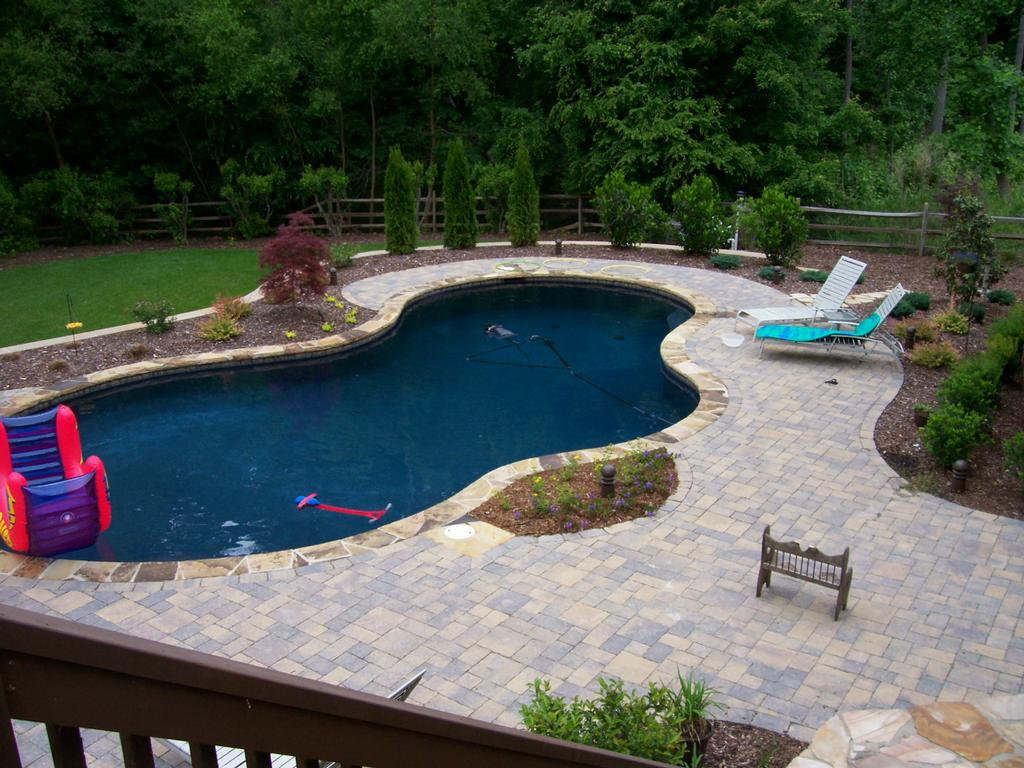 Landscape design from fine edge landscape design for Pool landscape design