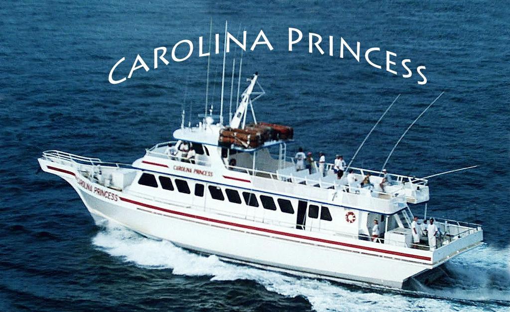 Carolina princess headboat morehead city nc 28557 800 for Deep sea fishing morehead city nc