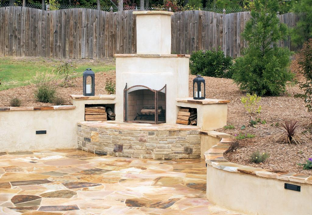 Teorema landscaping ideas raleigh nc diy for Exterior stucco design decorating ideas