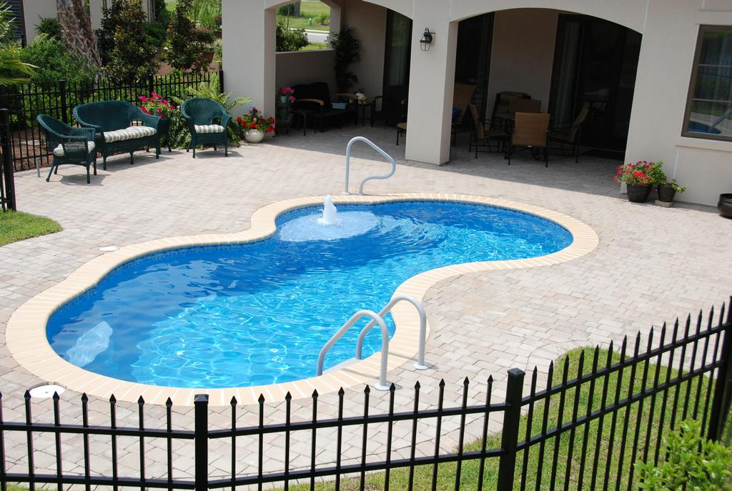 12 x 24 picasso trilogy fiberglass pool from hampstead for 12x24 pool design