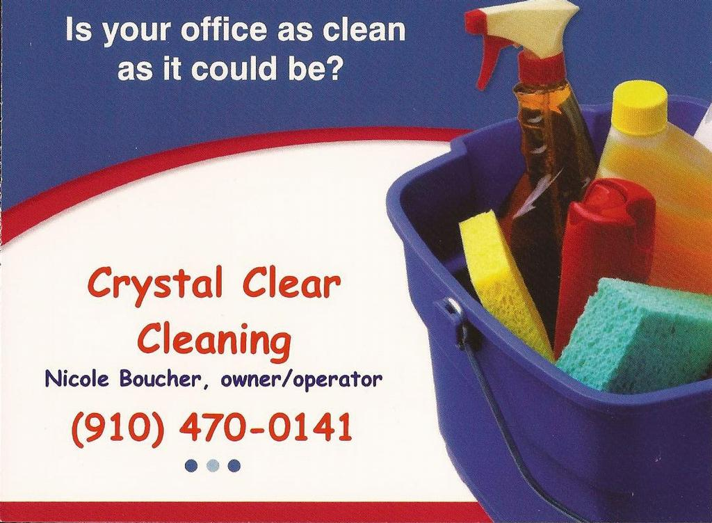 Crystal Clear Cleaning Wilmington Nc 28409 910 470 0141
