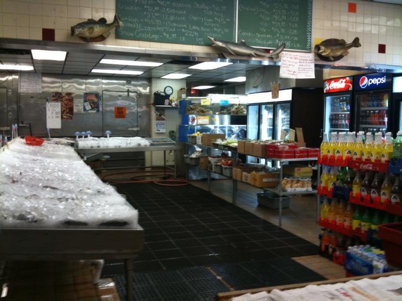 Inner harbor seafood market charlotte nc 28205 704 567 for Fish market charlotte nc