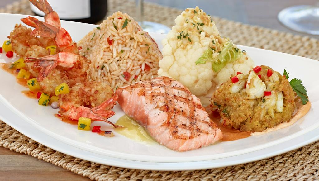 Big fish seafood bistro princeton nj 08540 609 919 1179 for Big fish princeton nj