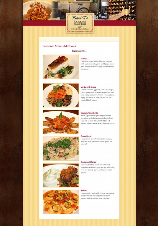 1000 images about italian restaurant images on pinterest - Italian cuisine menu list ...