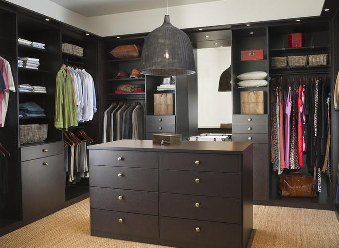 Walk In Closet With Center Island From California Closets Center Island For  Walk In Closet