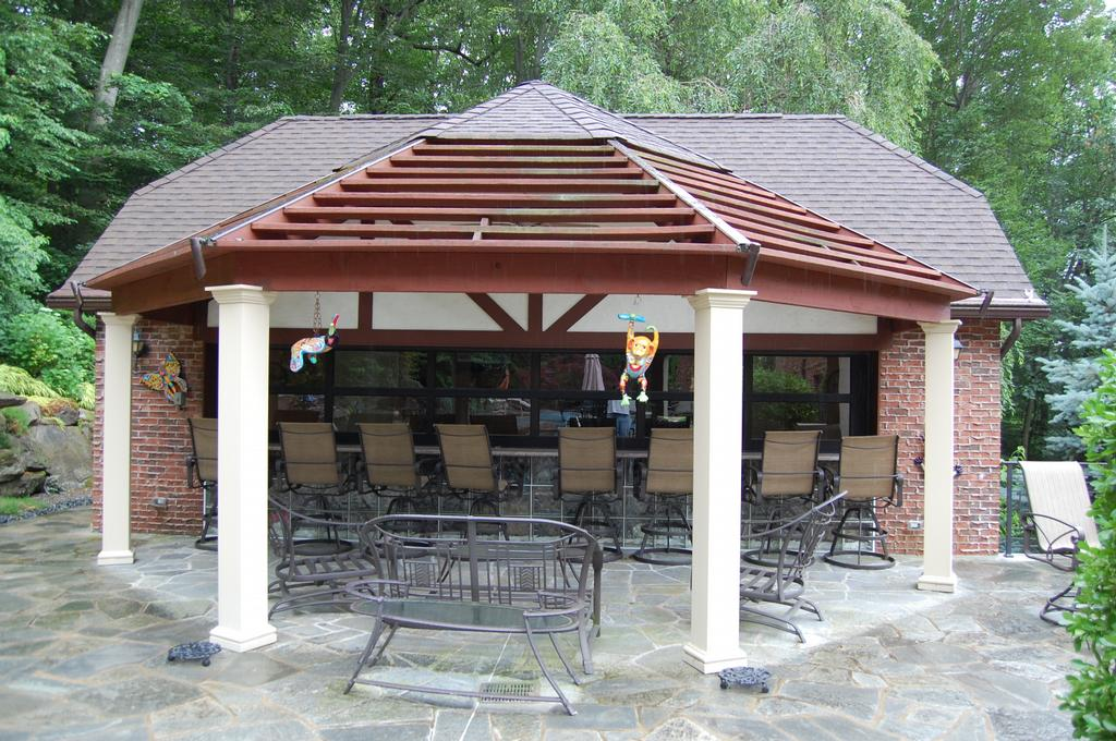 custom pool house 2 from legend landscape design inc in park ridge nj