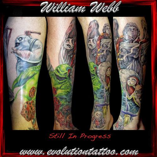 Bill2041 from evolution tattoo studio in mantua nj 08051 for Evolution tattoo studio
