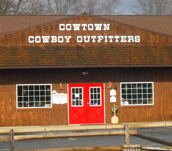 With so many styles to choose from, Cowtown Cowboy Outfitters in Pilesgrove is a fashion-lover's paradise! Don't ditch your four-legged pal outside? dogs are more than welcome at Cowtown Cowboy kabor.mln Cowboy Outfitters's patrons can find places to park in the area. Bike parking is quick and easy at Cowtown Cowboy kabor.mlon: U.S. 40, Pilesgrove, , NJ.