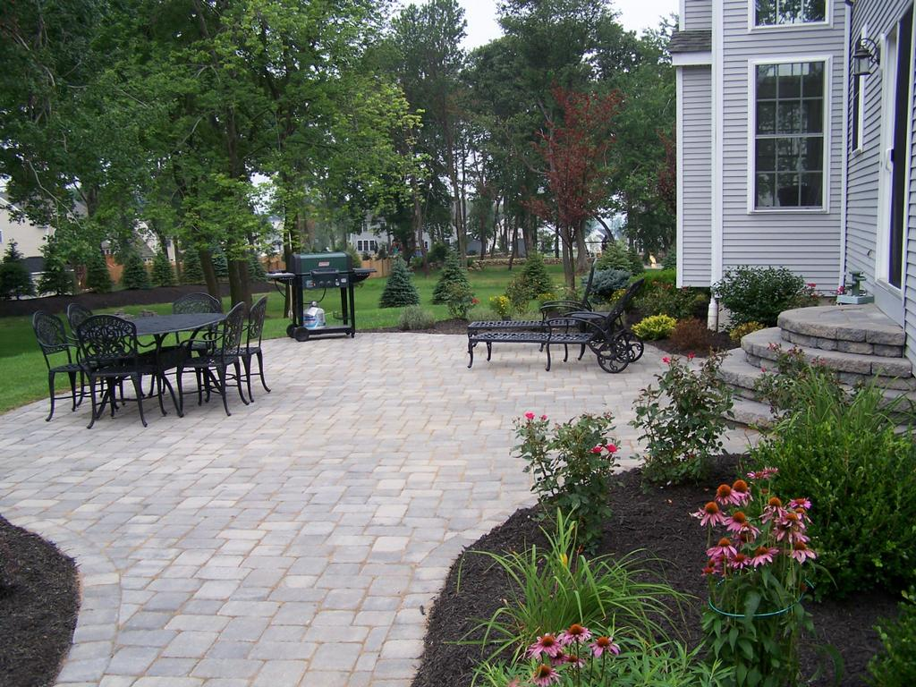 wcf bernstein paver patio from w c fields landscaping inc