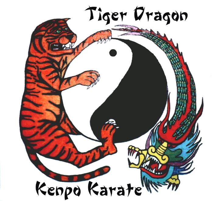 Kenpo Karate Logo Tiger Dragon Kenpo Karate