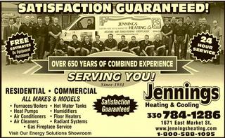 Jennings Heating & Cooling Co - Akron, OH