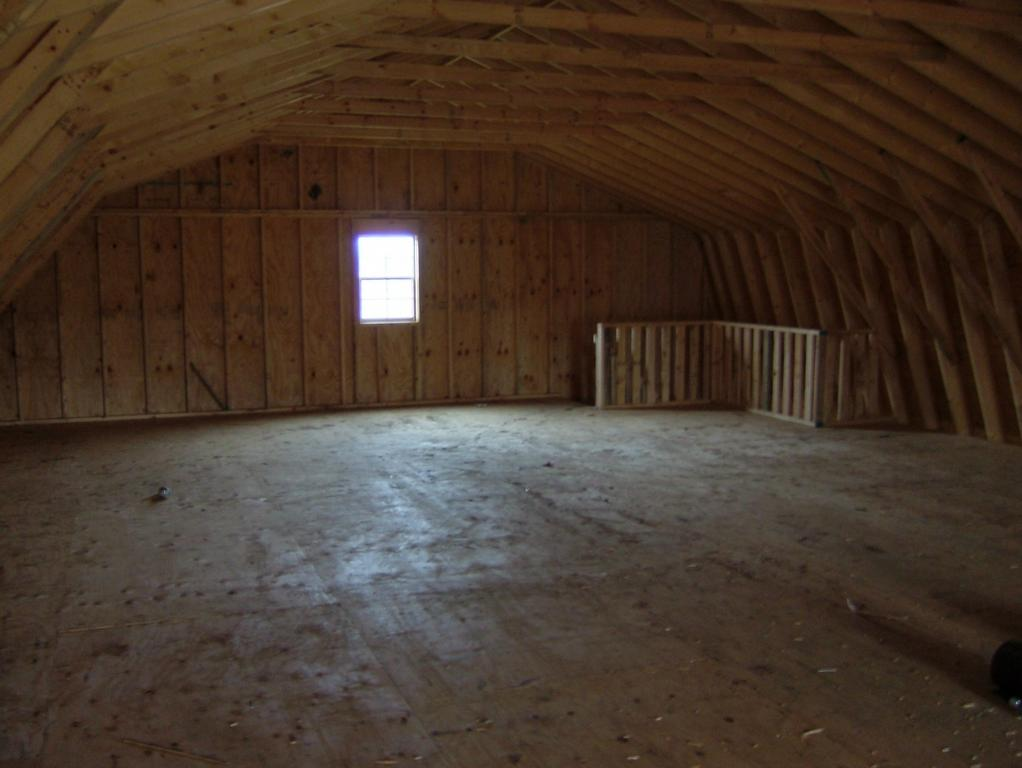 30x60 upstairs from storage building unlimited in lorain for Builders unlimited