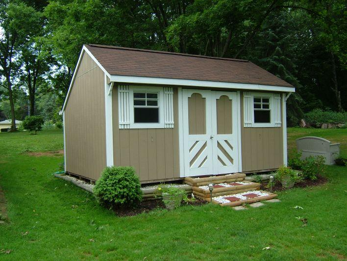 Bon 12x16 Chalet From Storage Building Unlimited In Lorain, OH 44053