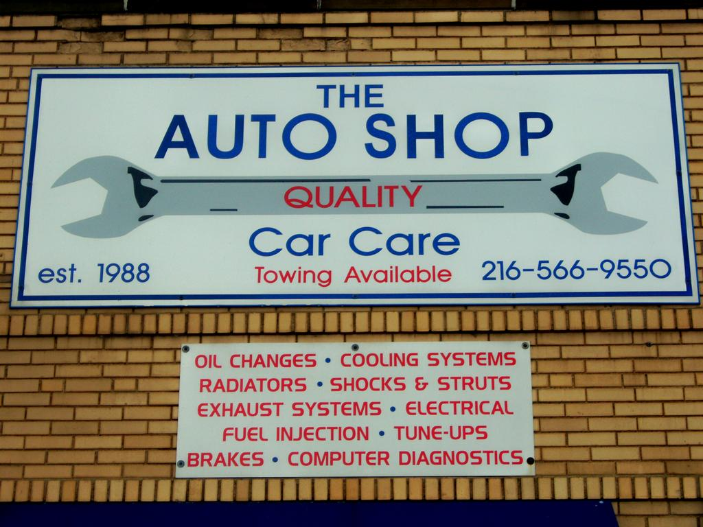 Funny Auto Repair Shop Signs Photos