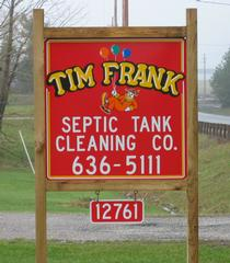 Tim Frank Septic Tank Cleaning - Middlefield, OH
