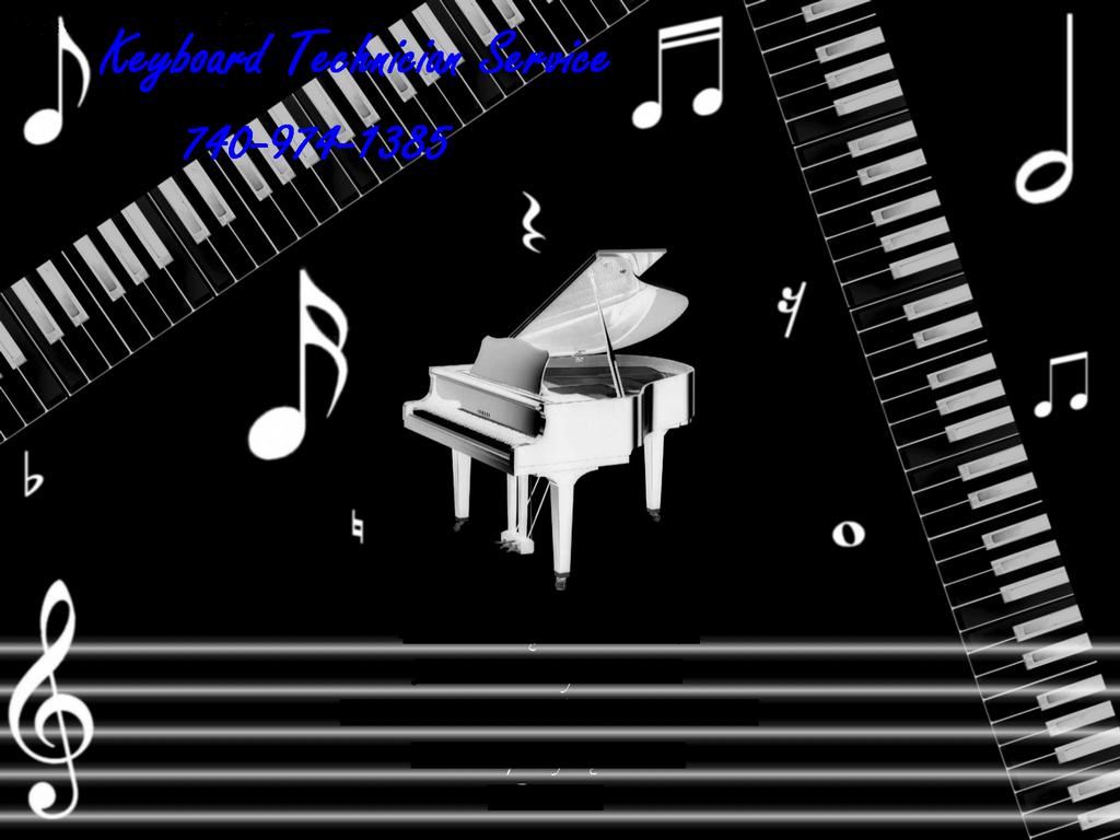 Full Piano Keyboard By keyboard technician service