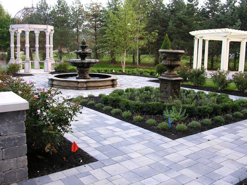 European garden style from finlandscape in columbus oh 43230 for European garden design