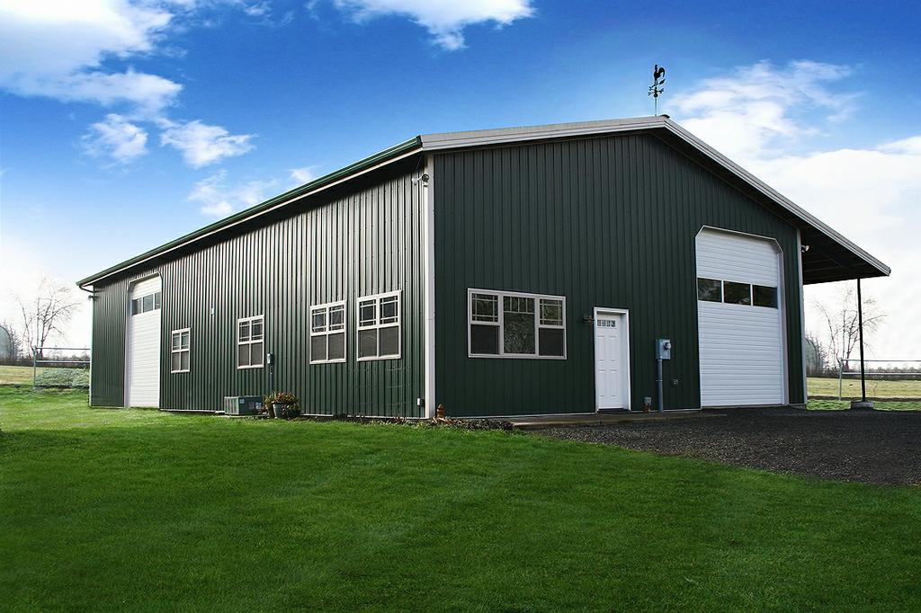 Steel building manufacturer decatur il metal buildings for Metal houses