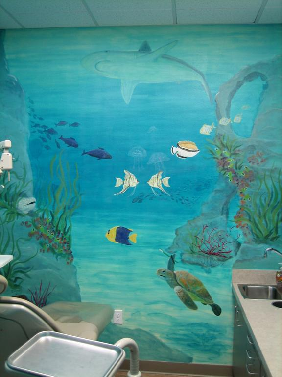 undersea wall murals bing images