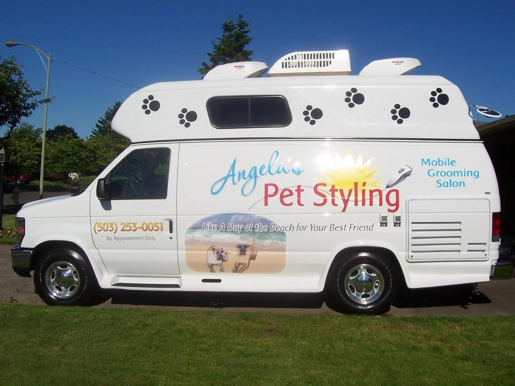 Mobile Dog Grooming Mountain View