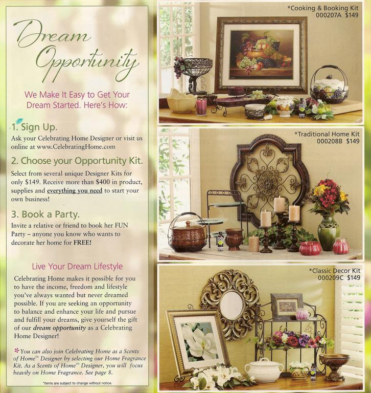Sring kits 2011 from celebrating home in bath pa 18014 home decor Celebrating home home interiors