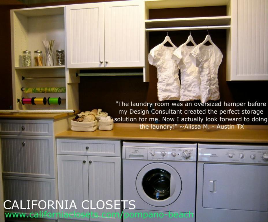 Laundry Room from California Closets in Pompano Beach FL 33069