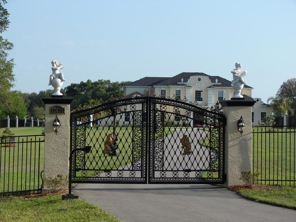 Elegant Aluminum Gate From Lanier Fence Inc In Wesley