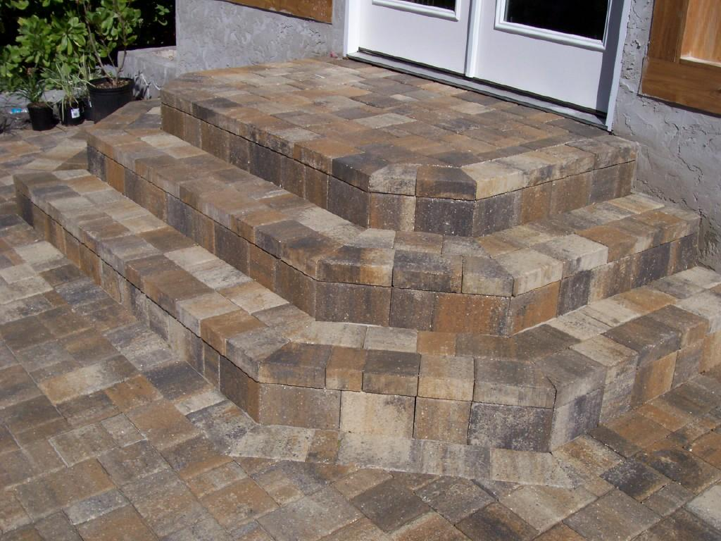 How to build steps with pavers - Alfa Img Showing Gt Making Steps With Pavers