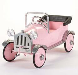 Pink Princess Hot Rod Pedal Car