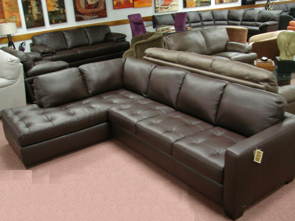 NatuzziBlackLeatherSectional Memorial Day sale Natuzzi leather : leather sectionals for sale - Sectionals, Sofas & Couches