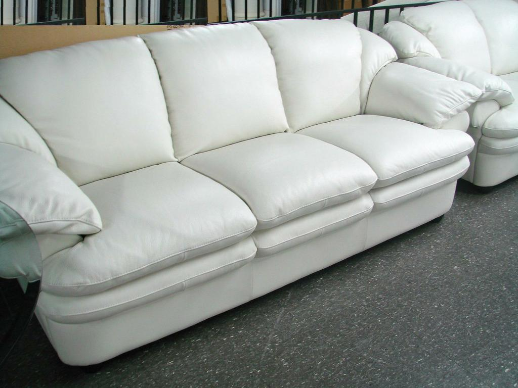 new year sale natuzzi a845 white leather sofa 2 copy