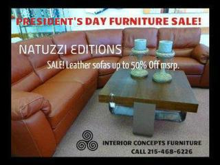 Sofas for sale philadelphia pa for Presidents day furniture sales