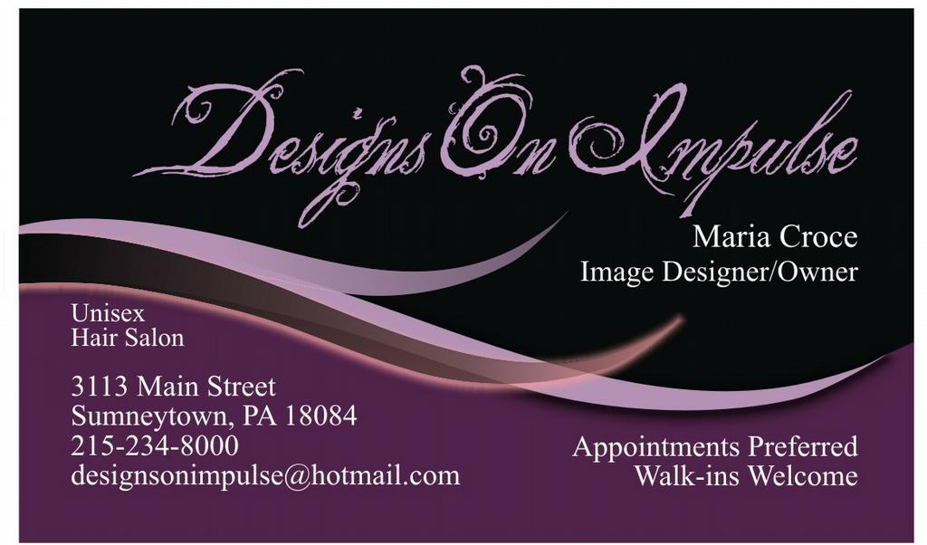 Beauty Parlour Visiting Card Images For Free Download | Joy Studio ...
