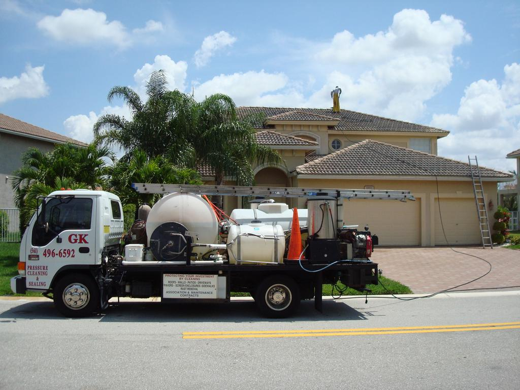 G K Pressure Cleaning Delray Beach Fl 33484 561 496 6592