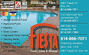 Fiesta Pools & Spas Inc - Erie, PA