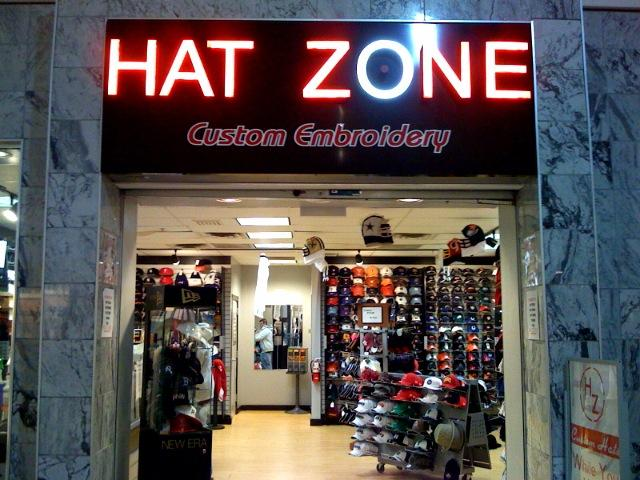 Hat zone custom embroidery york pa