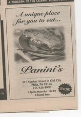 Panini's - Philadelphia, PA