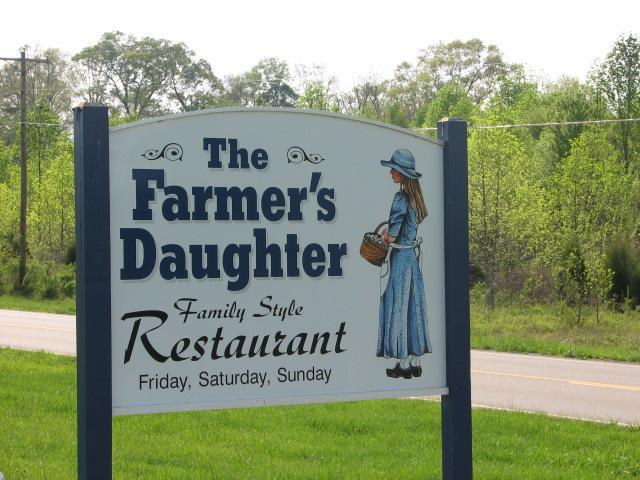 Farmer S Daughter Chuckey Tn Restaurant