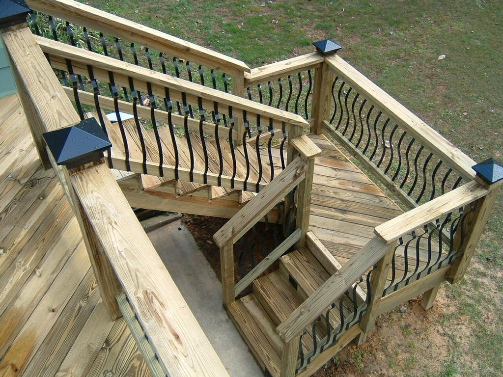 Stairs With Landing Architectural From Distinctive Designs 4 You Incorporated In Chattanooga